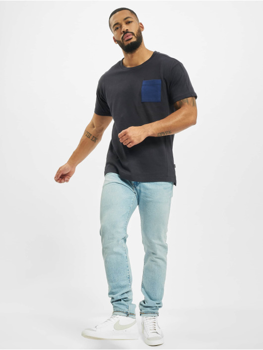 Jack & Jones T-Shirt jprAiden blau