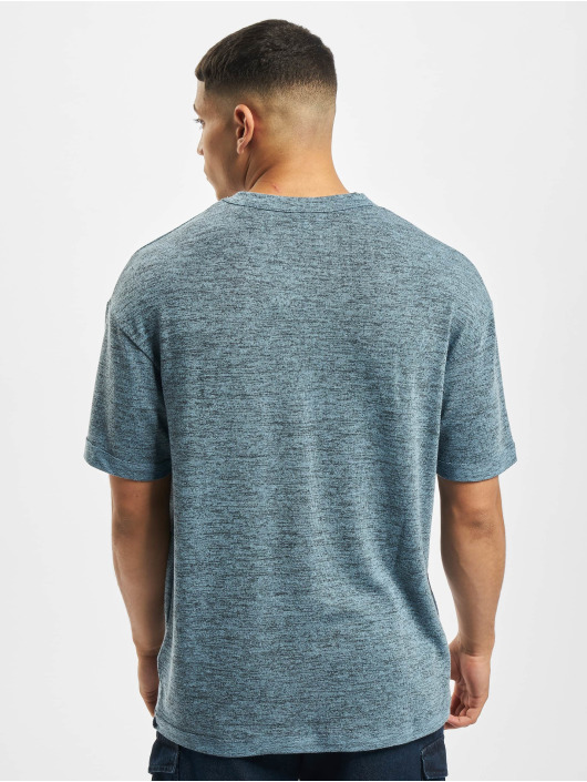 Jack & Jones T-Shirt jcoLaurids Knit blau