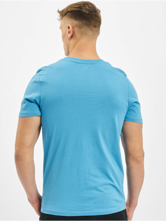 Jack & Jones T-Shirt jcoSplatter blau