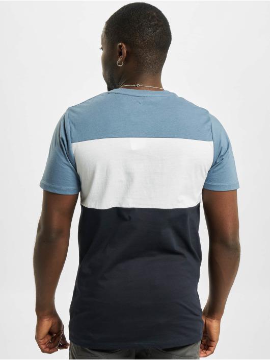 Jack & Jones T-Shirt jjeLogo Blocking Noos blau