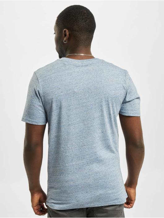 Jack & Jones T-Shirt jjeMelange Noos blau
