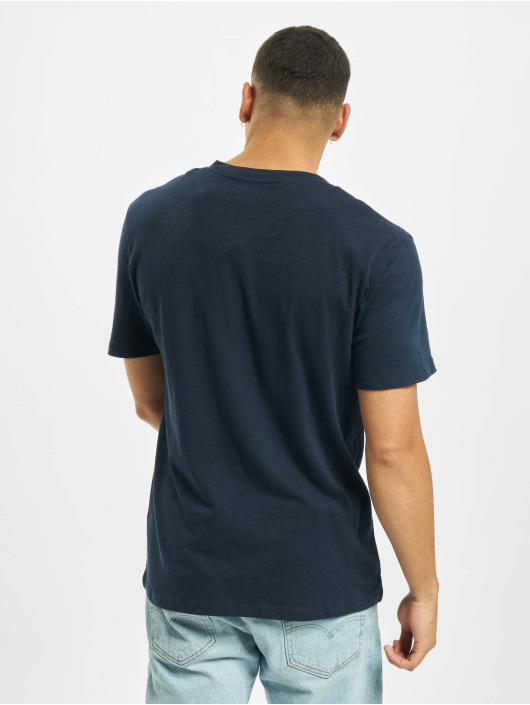 Jack & Jones T-Shirt jj30Jones Slub blau