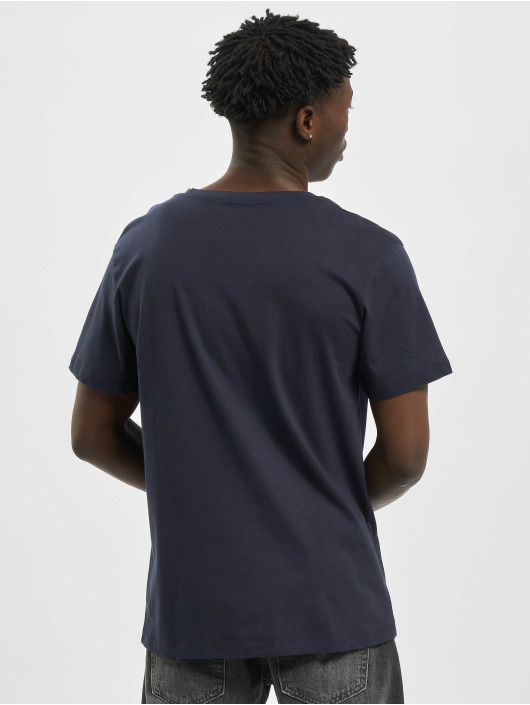 Jack & Jones T-Shirt jorSkulling blau