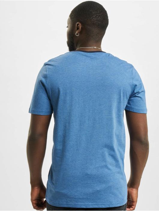 Jack & Jones T-Shirt jcoBerg Turk blau