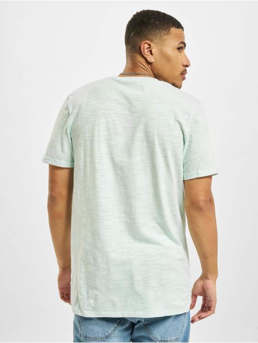 Jack & Jones T-Shirt Jprblabeach Embroidery blau