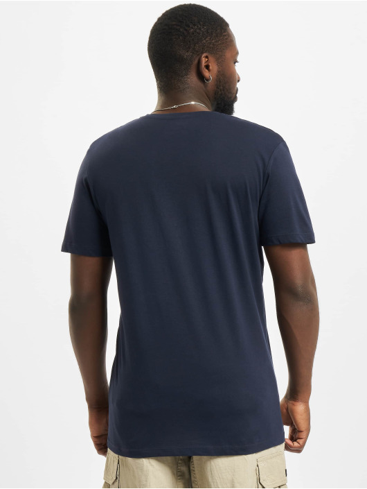 Jack & Jones T-Shirt Jormaldives Crew Neck blau