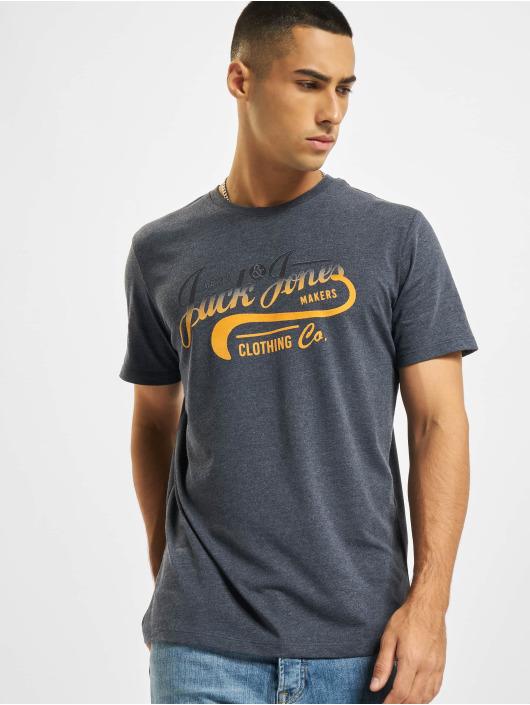 Jack & Jones T-Shirt JjNick blau
