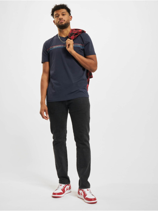 Jack & Jones T-Shirt Jprblaline Crew Neck blau