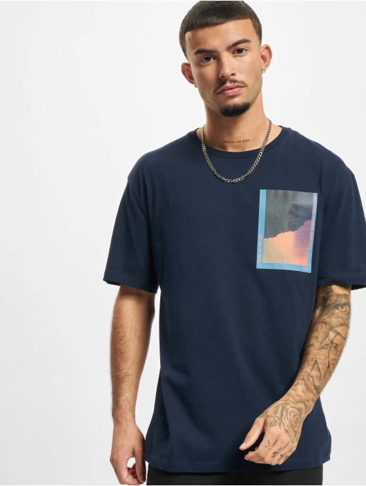 Jack & Jones T-Shirt Jorinfinitys blau