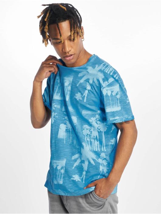 Jack & Jones t-shirt jorPhotopalm blauw