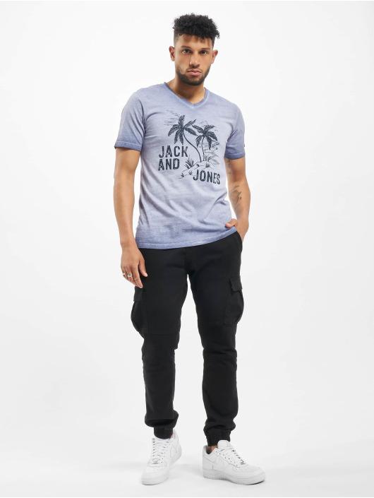 Jack & Jones t-shirt jorAbre blauw