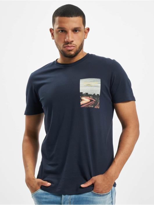 Jack & Jones t-shirt jorHolidaz blauw