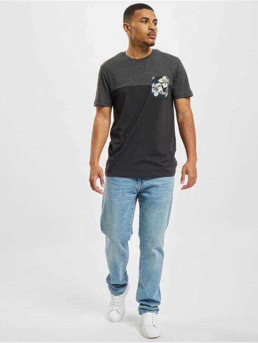 Jack & Jones t-shirt Jorhazy Pocket Crew Neck blauw