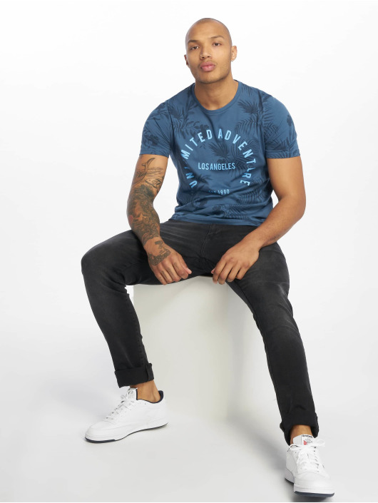 Jack & Jones T-Shirt jorFun bleu