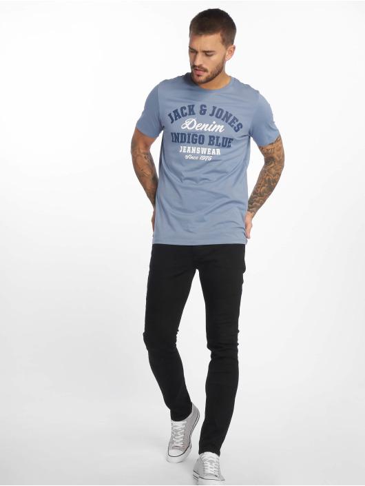 Jack & Jones T-Shirt jjeLogo bleu