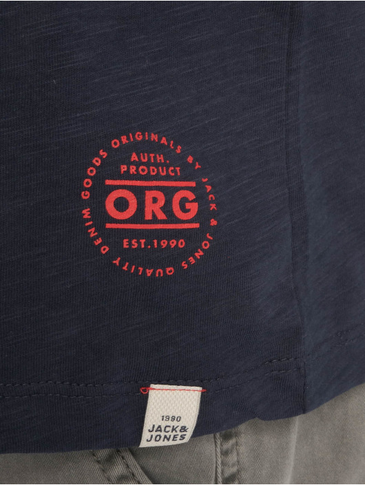 Jones Jackamp; Homme Bleu shirt Jortobi T 622990 XOkZiPu