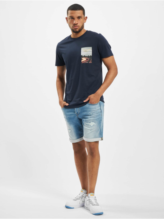 Jack & Jones T-Shirt jorHolidaz bleu