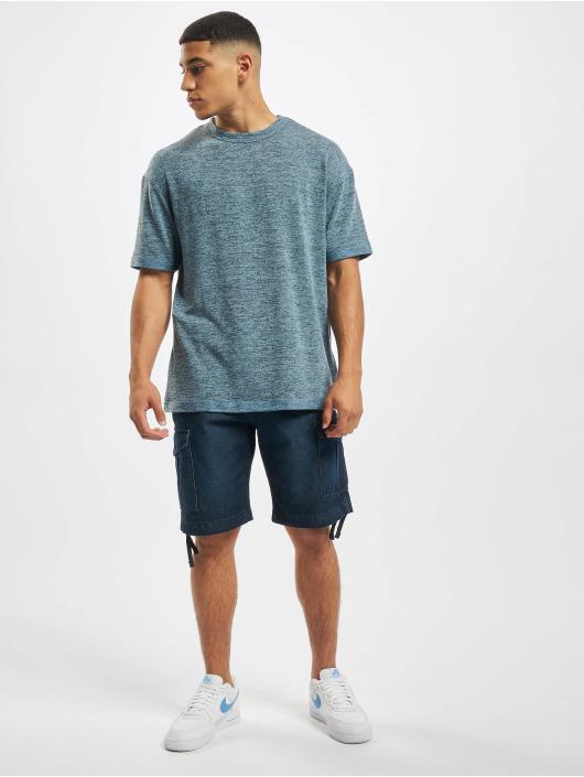 Jack & Jones T-Shirt jcoLaurids Knit bleu
