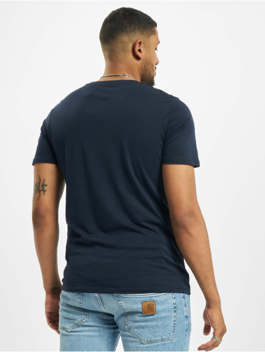 Jack & Jones T-Shirt jjeOrganic Basic Noos bleu