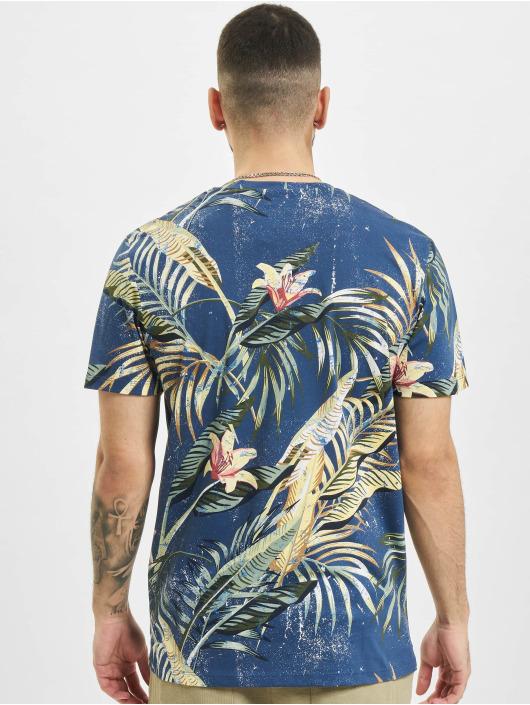 Jack & Jones T-Shirt jjPop Print bleu