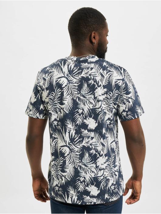 Jack & Jones T-Shirt JOR Sunny AOP bleu