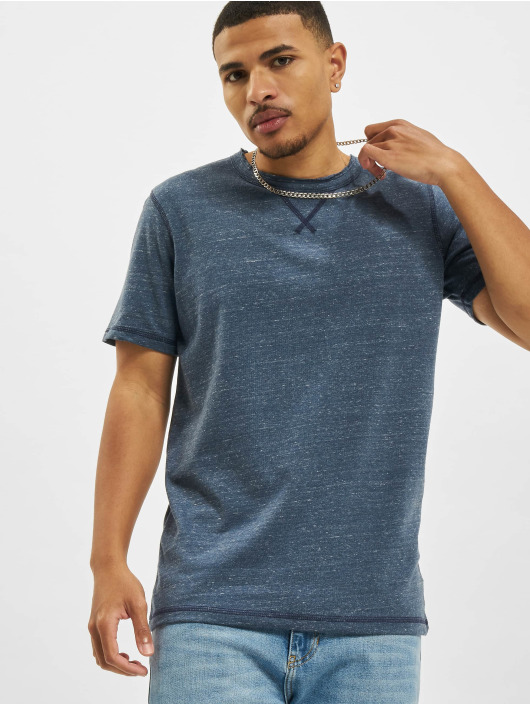 Jack & Jones T-Shirt Jprblumartin Crew Neck bleu