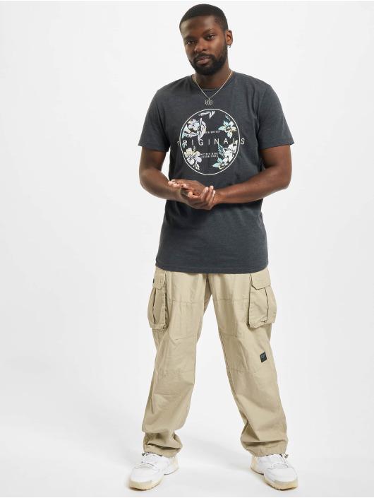 Jack & Jones T-Shirt Jorhaazy Crew Neck bleu