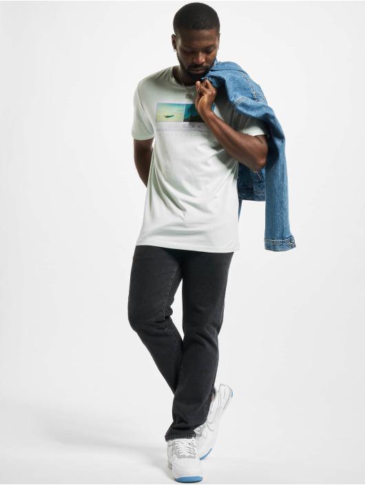 Jack & Jones T-Shirt Jormaldives Crew Neck bleu