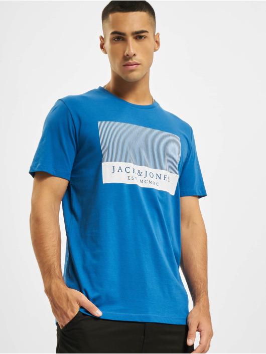 Jack & Jones T-Shirt JjStroke bleu