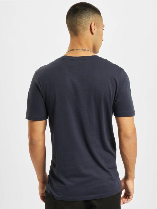 Jack & Jones T-Shirt Jjejeans O-Neck bleu