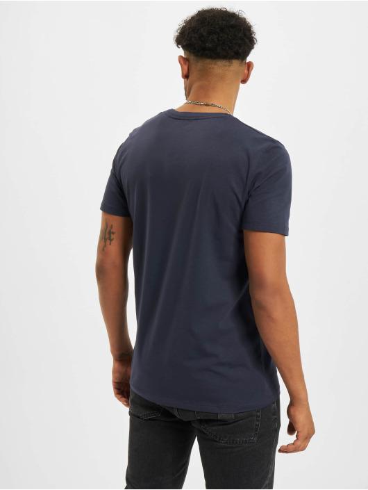 Jack & Jones T-Shirt Jprblaline Crew Neck bleu