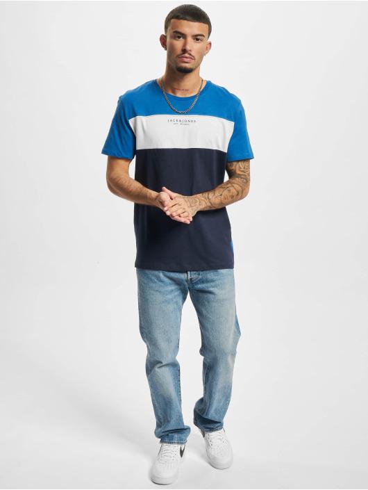 Jack & Jones T-Shirt Jjmonse bleu