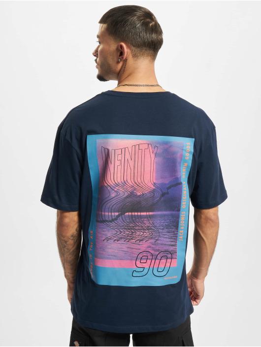 Jack & Jones T-Shirt Jorinfinitys bleu