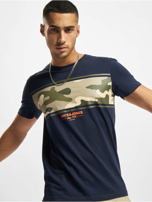 Jack & Jones T-Shirt Jjsoldier bleu