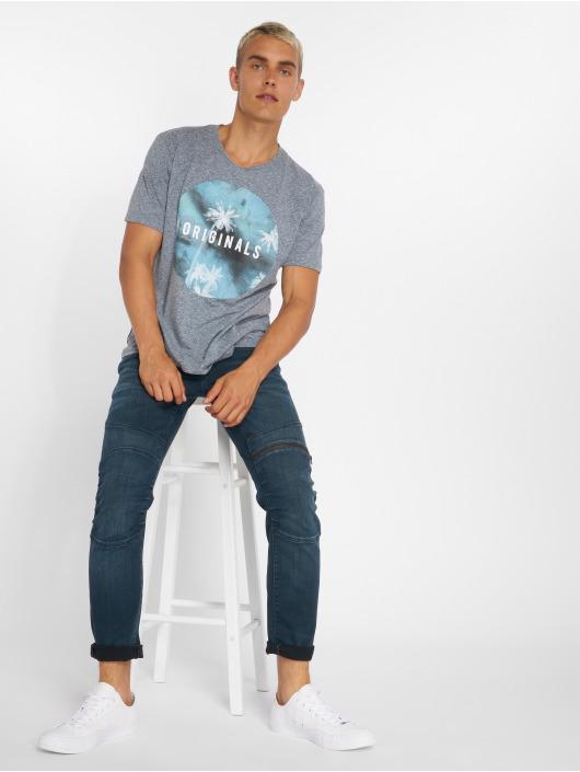 Jack & Jones T-Shirt jorStream blue