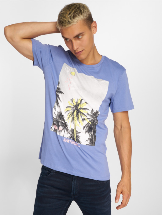 Jack & Jones T-Shirt jorRailroad blue