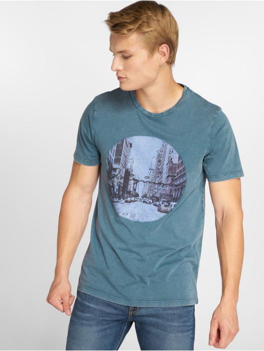 Jack & Jones T-Shirt jorCityAcid blue