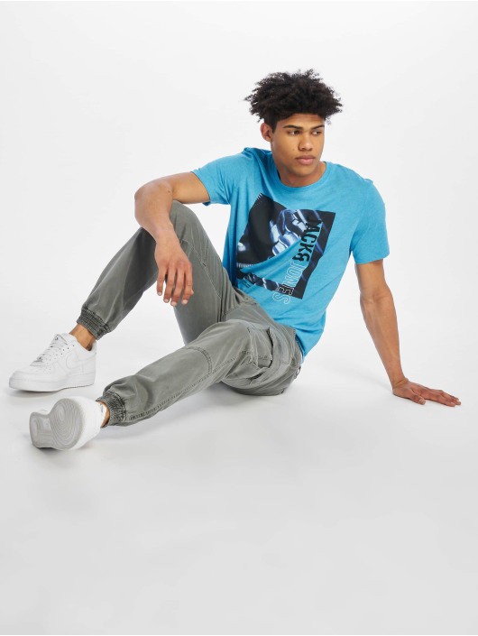 Jack & Jones T-Shirt jcoSpring-Feel blue