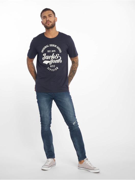 Jack & Jones T-Shirt jjeRafa blue