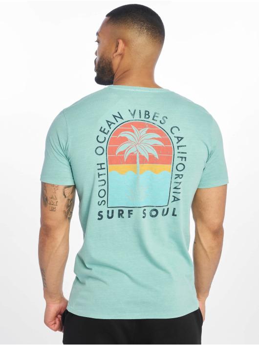 Jack & Jones T-Shirt jorSurfsoul blue