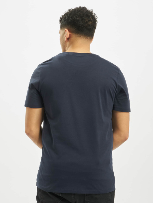 Jack & Jones T-Shirt jjeDenim Logo O-Neck Noos blue