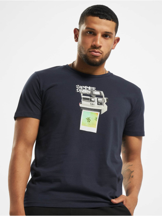 Jack & Jones T-Shirt orBilly Organic blue