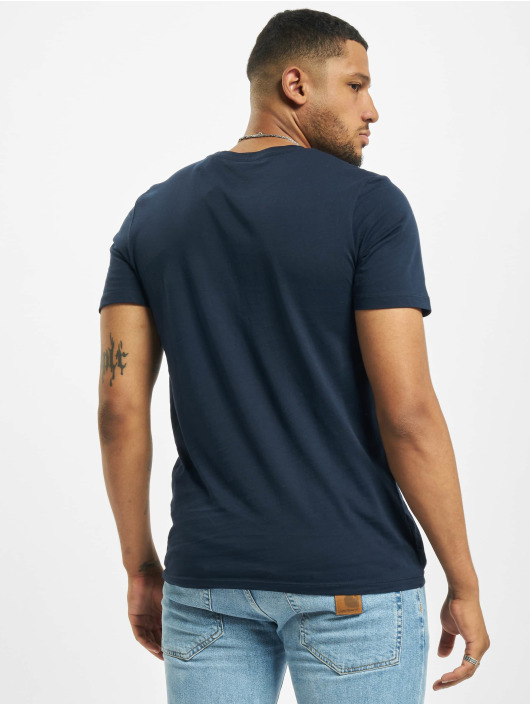 Jack & Jones T-Shirt jjeLogo Noos blue