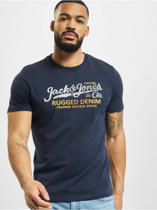 Jack & Jones T-Shirt jprBlustar blue