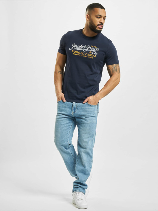 Jack & Jones T-Shirt jprBlustar blue