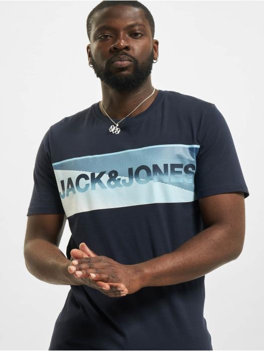 Jack & Jones T-Shirt jcoJenson blue