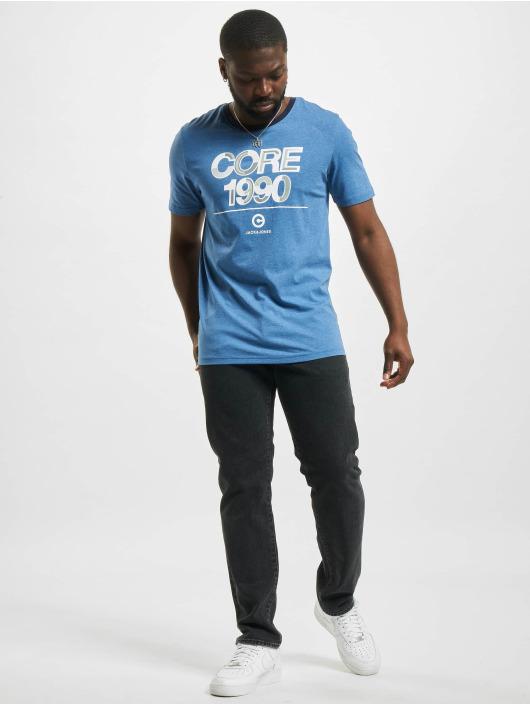 Jack & Jones T-Shirt jcoBerg Turk blue