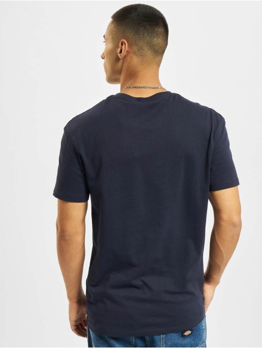 Jack & Jones T-Shirt Jcolegends Statement Crew Neck blue