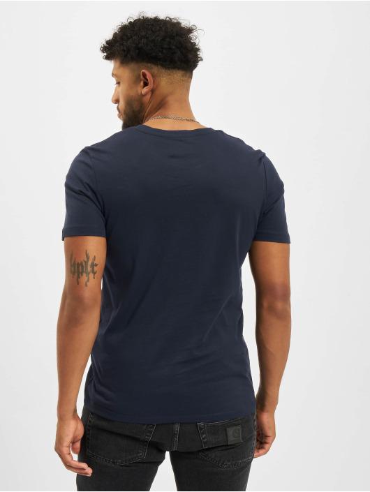 Jack & Jones T-Shirt Jjelogo O-Neck blue