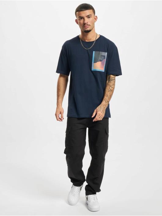 Jack & Jones T-Shirt Jorinfinitys blue